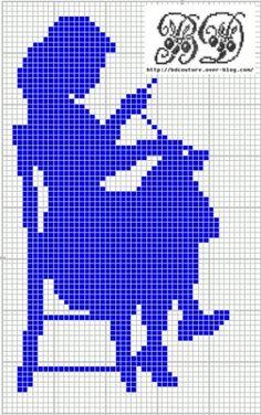 J'ai trouvé le dessin sur la bannière de ce blog : http://manuep2x.canalblog.com/ Trés bonne fin de semaine, bonne broderie ! Gratis Stickmuster Free chart Schema punto Patrones de punte Pour ne pas manquer les grilles gratuites, a bonnez-vous à la newsletter...