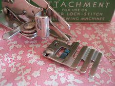 Vintage Singer Adjustable Zigzag Attachment #121706