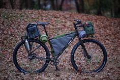 Surly ECR - Rohloff, Bikepacking, Racks