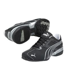 Take a look at this Black Puma Silver Tazon 5 Cross-Training Shoe - Men on  zulily today! 5fad0a13c
