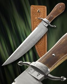 Video - 2013 Master Smith Knife of the Year by JR Cook, Master Smith, via YouTube.