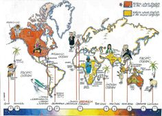 map of english speaking countries | Site du collège Hubert Fillay, 23 bis rue de…