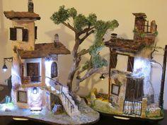 Diorama composizione tegole decorate   da luigitegola2