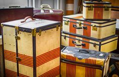 Oshkosh Trunks and Suitcases--the American Louis Vuitton