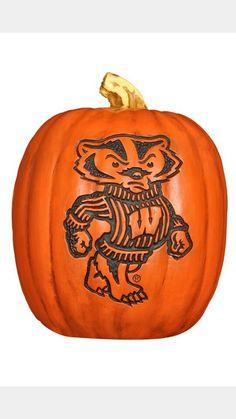 Bucky pumpkin