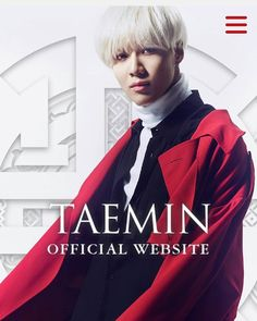 160623 TAEMIN 1st Mini Album「さよならひとり」released on 2016.7.27
