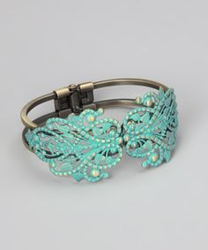 Take a look at this Turquoise Muse Cuff on zulily today!