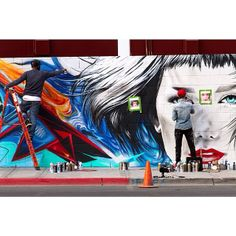 Starfightera | Work in progress - Downtown Container Park, Las Vegas - #Vegas collab with @easeonetx photo by @b4_flight (via her Instagram)