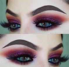 BERRY RED AND BURGUNDY TONES | 5 AUTUMN FALL AND FESTIVE BERRY INSPIRED MAKEUP TUTORIALS @makeupbypree_ #makeup #beauty #makeupinspo #anastasiabeverlyhills #modernrenaissance #eotd #berry #makeupartist #makeupgoals #eyeshadow #bblogger #beautyblogger #hudabeauty #mua #motd #darklip #berrylip #boldlip #hudabeautyrosegoldpalette #makeupgeek