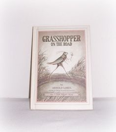 Weekly Reader Book  Grasshopper On The Road by SheCollectsICreate