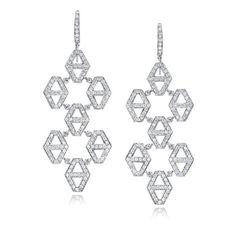 Walters Faith Keynes Diamond Seven Drop Chandelier Earrings pcvKdStNsd