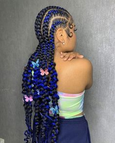 Forget regular straight backs. Check out 25 feed in stitch cornrow braids you need as your next protective hairstyle. Braided Hairstyles For Black Women, Boho Hairstyles, Wig Styles, Braid Styles, Stich Braids, Flower Braids, Cute Stitch, Feed In Braid, Braids With Beads
