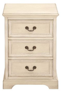 One Kings Lane - Power of Pairs - Darren Nightstand, Beige
