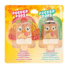 Thanksgiving Pucker Pops Flavored Lip Gloss Set | Claire's