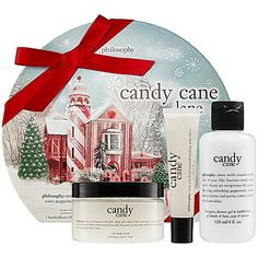 Philosophy Candy Cane Lane Set | I just ordered this off Sephora (oops).  Channeling my 14-yr old self/I still adore candy canes.