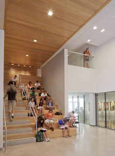 LBJ Library, UT Visual Arts Center, Austin TX | Lake|Flato Architects
