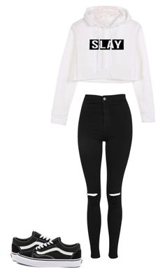 """Untitled #17"" by animallover0329 on Polyvore featuring Topshop and Vans"
