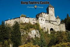 Burg Taufers Castle: Medieval Fortification in Italy | via @learninghistory