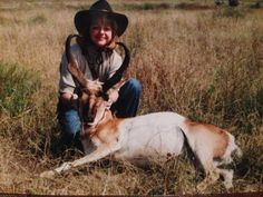 West Texas Hunting - This is my wonderful mother in law who shot the 2nd biggest Pronghorn Antelope in the state of Texas!
