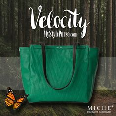 Miche Velocity Demi Handbag 50% OFF!*  Now through midnight, March 19, 2016, take 50% off the beautiful emerald Velocity Demi handbag!  New to Miche? Come see what the secret of interchangeability can do for your wardrobe! Shop MyStylePurse.com  *While supplies last. Base bags sold separately.