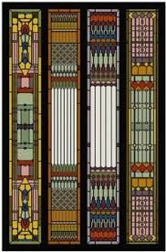 These are more Art Deco, kind of Frank Lloyd Wright, but I love them anyway