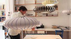 Maranga lamp by Christophe Mathieu for Marset