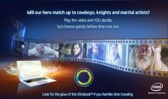 Choose your own adventure when you watch the Ultrabook interactive video here