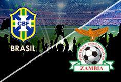 ABIERTAS LAS APUESTAS  PARTIDOS AMISTOSOS MARTES 15 DE OCTUBRE Brasil Vs Zambia  www.hispanofutbol.com