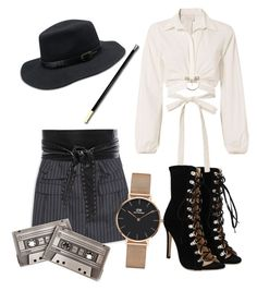 """""""let's smoke a little"""" by dinuelena on Polyvore featuring Cinq à Sept, INC International Concepts, IRO and Daniel Wellington"""