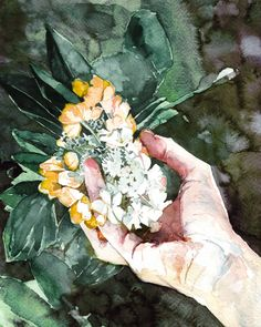 Hands + other bits – Made by Marion Watercolor Illustration, Watercolour, Canadian Artists, Montreal, Hands, Painting, Pen And Wash, Watercolor Painting, Watercolor