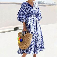 Women's Fashion Dresses, Casual Dresses, Women's Casual, Maxi Dresses, Cotton Dresses, Casual Wear, Casual Outfits, Formal Dresses, Look Fashion