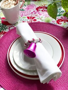 Hot Pink + Lime Green + White + Red - Fresh Christmas Colors: 11 Combos You've Never Tried on HGTV