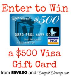 bargainblessings.com is a great money saving website based in Colorado and they are giving away $ with Favado.