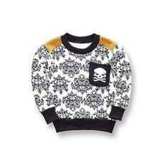 Skeleton Print Sweater