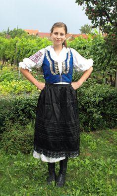 Slovak traditional folk costume