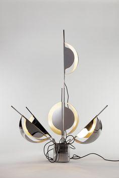 Jean-Pierre Vitrac - Works - Demisch Danant Pierre Guariche, Pierre Paulin, Joseph, Ceiling Fan, It Works, Mid Century, Lighting, Furniture, Design