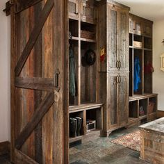 Office Craft Room Add Built In Bookshelves To Rustic Closet Design Ideas
