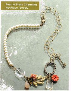Jill Schwartz Vintage Groove Necklace | DIY Fashion & Jewelry