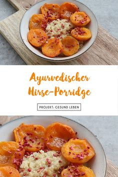 Ayurvedischer Hirse-Porridge mit gebratenen Aprikosen The Ayurvedic breakfast is - like everything in Ayurveda - very individual. But the basis remains the same: a cereal porridge. Healthy Juice Recipes, Healthy Meal Prep, Healthy Snacks, Vegetarian Recipes, Budget Freezer Meals, Cooking On A Budget, Easy Meals, Eating Organic, Clean Eating Recipes