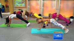 Fortalece tus brazos con los ejercicios de Claudia Molina (+playlist)