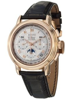 Zenith ChronoMaster GT Moonphase Mens Automatic Watch 18 1240 400101C495GB