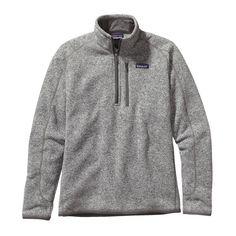 Patagonia Men's Better Sweater Quarter Zip Fleece- Stonewash