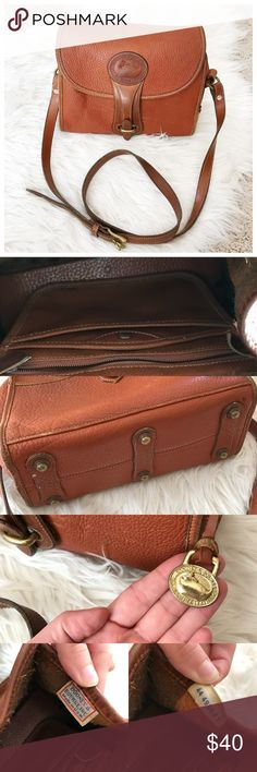 •Dooney & Bourke• VTG Medium Essex Leather Satchel All weather Leather pebbled from 80s era! Very loved and please see photos of all wear. Large discoloration spot under front flap but as seen in cover photo it can only be seen when the bag is opened. Inside is marked up and various scuffs throughout. Great bag and such a beautiful color! Please feel free to ask any questions or make an offer! All prices are negotiable! Dooney & Bourke Bags Satchels