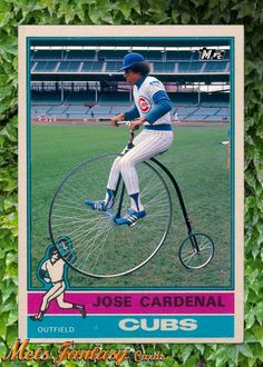 Eddie Vedder gets a card. A big Cubs fan, as a child he idolized Jose Cardenal. Jose played for the Mets a little bit during the Chicago Cubs History, Cubs Cards, Chicago Cubs Baseball, Cubs Fan, Eddie Vedder, Big Picture, Cubbies, Mlb, Baseball Cards