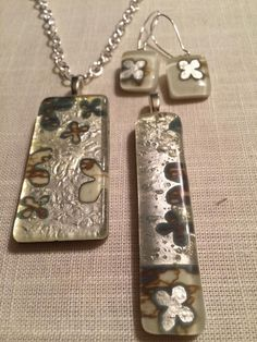 #MOL Handmade, fused glass jewelry by Miss Olivia's Line.  Additional items posted at https://www.facebook.com/MissOliviasLine