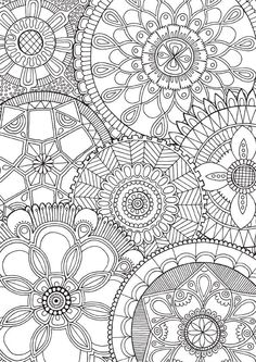 Family Mandalas An Intricate And Super Duper Detailed Illustration Hand Drawn By Myself Coloured YOU Find This Pin More