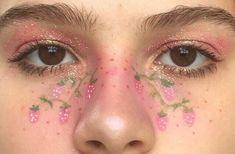 face hair color ideas for brown skin - Hair Color Ideas Edgy Makeup, Eye Makeup Art, Fairy Makeup, Makeup Inspo, Makeup Inspiration, Beauty Makeup, Indie Makeup, Cool Makeup Looks, Creative Makeup Looks