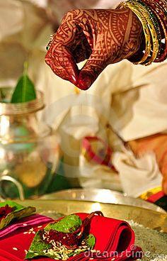 Hindu wedding ritual , India