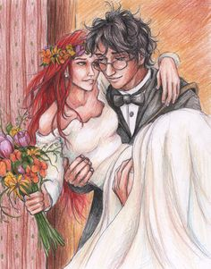 Young Love, by reallycorking. Harry and Ginny.
