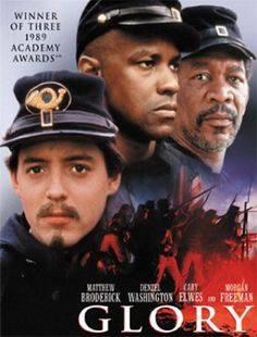 Glory since am a great fan of Civil War movies this cast surpassed all expectations the great struggle for an all black unit in Union army reguested by a Northern officer who gained respect of the men who served under him .